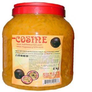 Passion Fruit Coconut Jelly Stripe