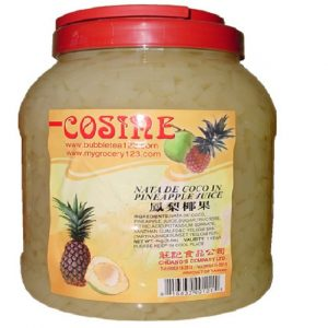 Pineapple Coconut Jelly Strip