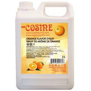 Orange Fruit Syrup