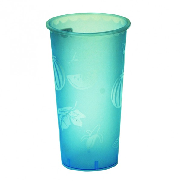 16oz Rainbow Plastic Cup