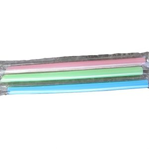 "7"" Insert Cut Jumbo Straw (Single Wrapped)"