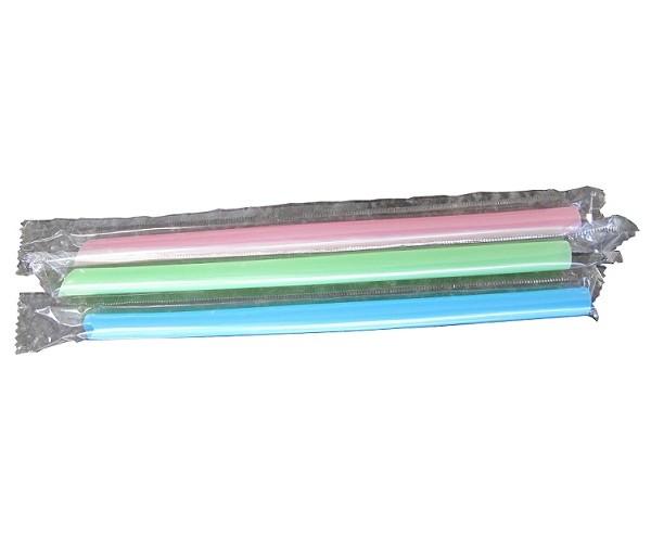 "8"" Insert Cut Jumbo Straw (Single Wrapped)"