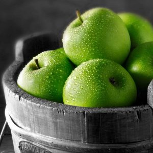 Green Apple (with Pulp) Fruit Syrup